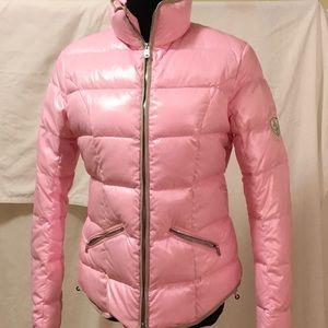 Bogner Goose Down Pink Parkman size 8, NEW